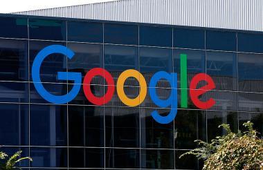 Fachada de Google.