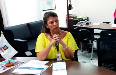 Ángela María Bedoya lleva poco más de mes y medio al frente de la Fiscalía Seccional de Atlántico.
