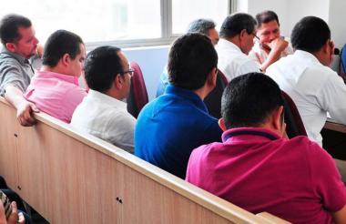 Los procesados por el cartel de los falsos enfermos mentales en Sucre estuvieron una semana en audiencias.