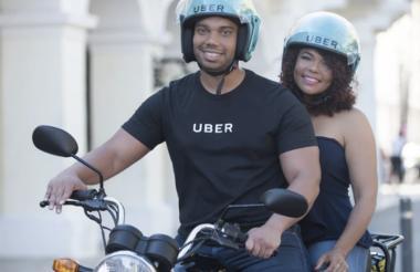 Una acogida masiva ha tenido el servicio de UberMoto en República Dominicana.