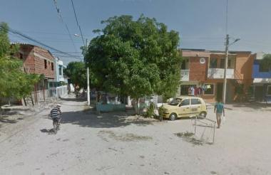 Barrio Villa Estadio, lugar donde se originó uno de los reportes.