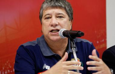El técnico colombiano Hernán Darío 'Bolillo' Gómez.