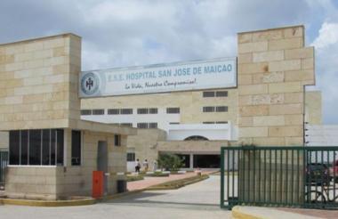 Wilmer Acosta fue trasladado al hospital San José de Maicao, donde falleció por la gravedad de su herida.