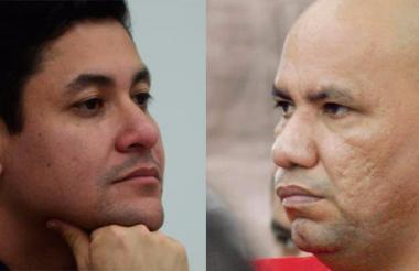 Édgar  Fierro Flórez, 'Don Antonio' y Johnny Acosta Garizábalo, alias 28.