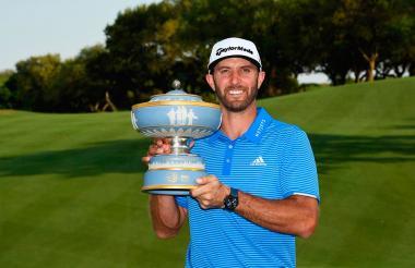 El golfista Dustin Johnson.