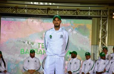 El tenista barranquillero José Bendeck.