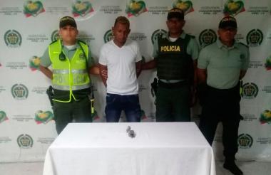 Jaider Rafael Valencia Granados, presunto agresor de Nancy Guzmán Urina.