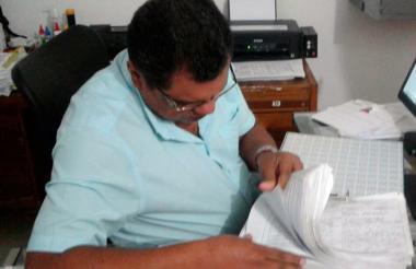 Las firmas avaladas por la Registraduría.