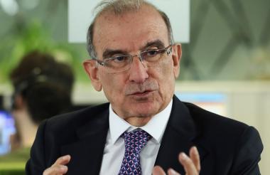 Humberto de la Calle, jefe del Equipo Negociador del Gobierno con las Farc.