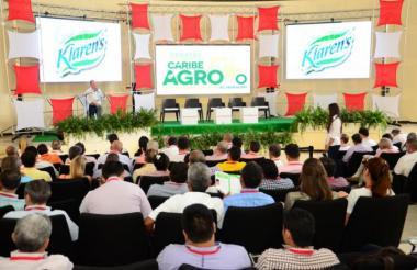Espacio Foro Caribe Agro, realizado por EL HERALDO.