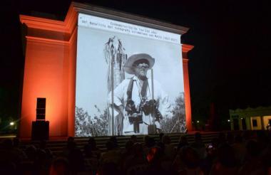 La imagen de Leo Matiz fue expuesta en la Quinta de San Pedro Alejandrino.