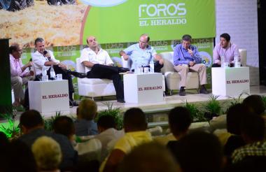 Jorge Eliécer Quintero, Hernán Yunis, José de Silvestri, Óscar Daza, Germán Gómez y Rodrigo Martínez.