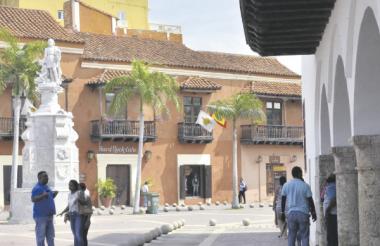 Las Plazas en Cartagena son muy visitadas por los turistas