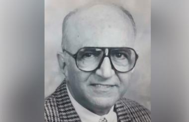 El fundador de la Universidad Metropolitana, Alfonso Acosta Bendek.
