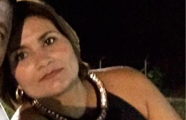 Sandra Borrero Meza, comerciante secuestrada.