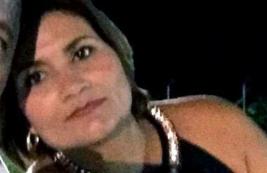 Sandra Meza Borrero, quien fue secuestrada la noche del jueves en Albania, La Guajira.