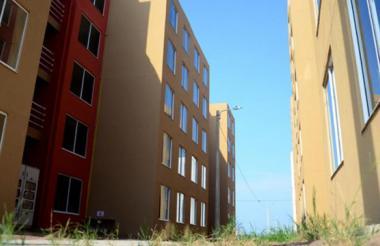 Apartamentos construidos en el proyecto Las Cayenas.