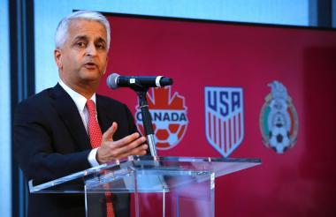 Gulati, presidente de la Federación de Fútbol de EEUU.