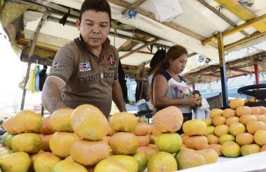 Con la venta de frutas se espera conquistar el mercado internacional.