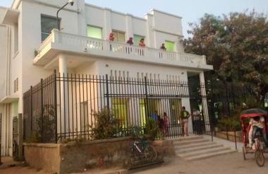 Hospital San Cristóbal de Ciénaga, donde médicos confirmaron el deceso del turista.