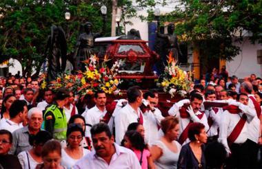 Procesión del Santo Sepulcro.