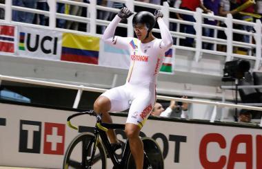Fabián Puerta, ciclista.