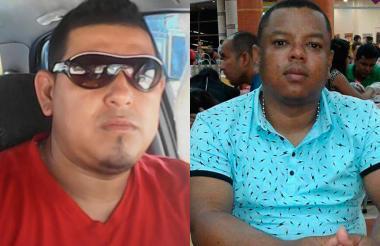 David Carrillo Gómez y Harold Espinosa Pino.