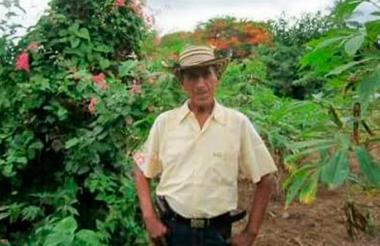 José David Maestre Hinojosa, de 74 años de edad.