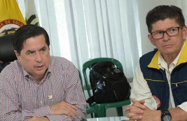 Juan Fernando Cristo y Carlos Iván Márquez.