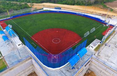 Esta es la cancha de sóftbol donde se jugará el torneo.