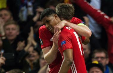 Rashford, héroe del United ante el Anderlecht.