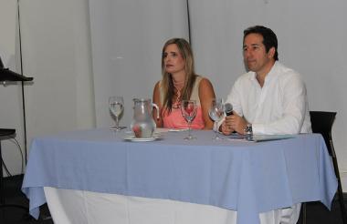 María José Vengoechea y Daniel González Echeverri.