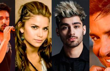 Maluma, Adriana Lucía, Zayn Malik y Chayanne, artistas con novedades musicales este 21 de abril.
