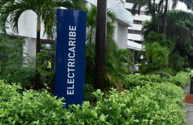 Sede de una las oficinas de Electricaribe en la ciudad de Barranquilla.