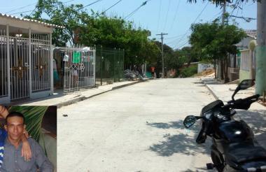 Calle 84A con carrera 21C, lugar donde sucedió el homicidio.