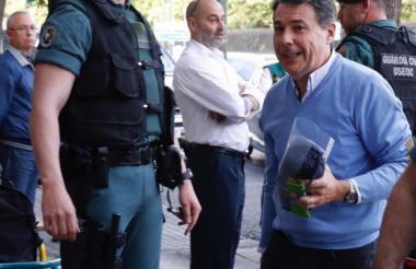 Ignacio González, capturado en España.
