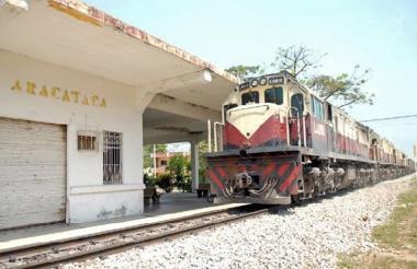 Estación del Ferrocarril de Aracataca.