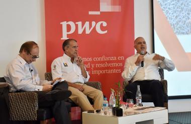 Gustavo Driespiel, Eduardo Verano y Christian Daes.