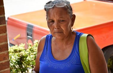 Magaly Madera González, familiar de cuatro de las víctimas de Blas de Lezo.