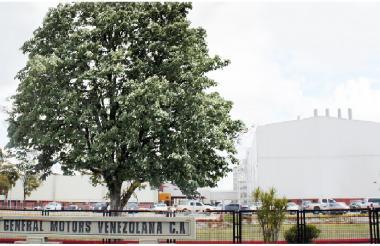 Planta de GM en Valencia, Venezuela.