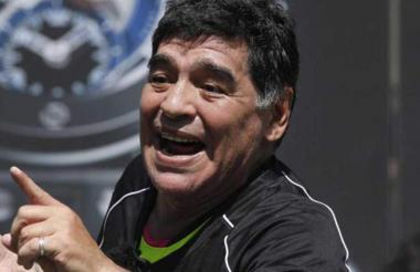 Diego Armando Maradona, exjugador argentino.