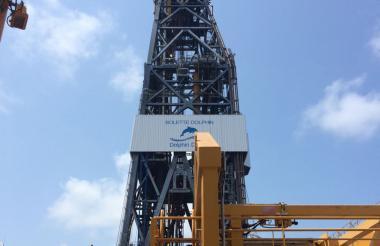 El buque de perforación exploratoria de alta tecnología llamado 'Bolette Dolphin'.