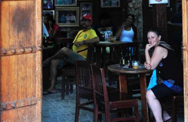 bar de salsa 'Donde Fidel'.