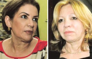María Paulina Ceballos y Silvia Gette.
