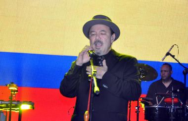El artista panameño Rubén Blades.