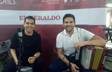 Peter Manjarrés y Juancho De la Espriella.