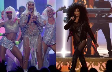 Como siempre, Cher apareció en los Billboard, luego de tres lustros de ausencia en ese escenario, con una vestimenta lanzada lo que desató críticas por lucirlas a su avanzada edad. La cantante septuagenaria, que derrochó tanta sensualidad y energía como sus jóvenes bailarinas, recibió el Premio Ícono del Año en reconocimiento a su éxito en 53 años en la industria musical.