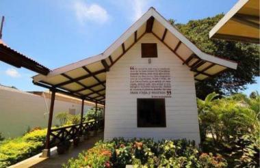 Casa de Gabriel García Márquez en Aracataca, en el que actualmente funciona el Museo.