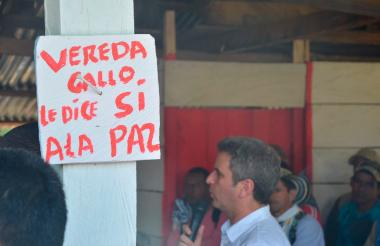 Vereda El Gallo.