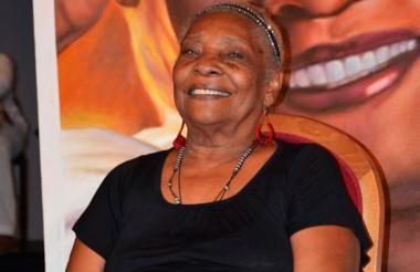 La cantadora Petrona Martinez.